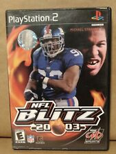 NFL Blitz 2003 ps2 Black Label Complete in Box