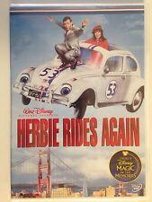 Herbie Rides Again (DVD, 2004)(NEW) OOP