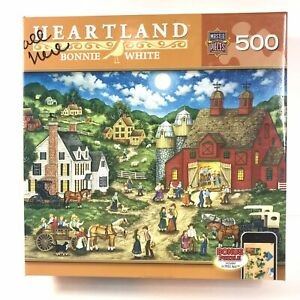 """Heartland - Bonnie White """"Friday Night Hoe Down"""" 500 Piece Puzzle MasterPieces"""