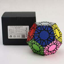 VeryPuzzle 12 Faces Clover Dodecahedron Magic Cube Twisty Puzzles Spheric Toys