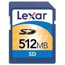 Lexar 512MB SD Card (SD512-23-260)
