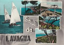 LAVAGNA - Saluti - Vedute 1958