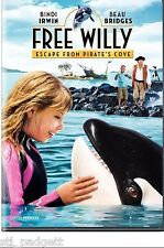Free Willy: Escape from Pirate's Cove DWTS Bindi NEW DVD Buy 2 Items-Get $2 OFF