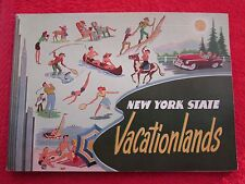 1954 OFFICIAL NEW YORK STATE VACATIONLANDS GUIDE BOOK