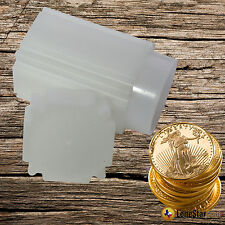 1 CoinSafe 1 oz GOLD AMERICAN EAGLE Square Coin Tube 33mm