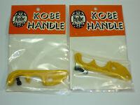 Kobe Handle Vintage BMX Brake Lever Blades Dia-Compe? Yellow PAIR Haro GT Dyno