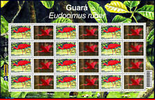 2921a-2-FO BRAZIL 2004, MANED, BIRDS, RHM C-2564 SHEET MNH