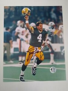 Brett Favre autographed signed photograph 8x10 Green Bay Packers - COA