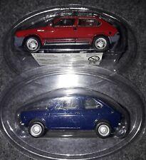 1/43 Lotto 2  modellini Fiat,Ritmo Abarth ,Fiat 127  Norev Hachette