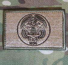 UTAH STATE FLAG US ARMY MORALE MULTICAM VELCRO® BRAND FASTENER BADGE PATCH