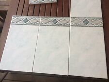 Quality Spanish Wall Tiles - 39 Square meters + Borders - Enough for 2 bathrooms