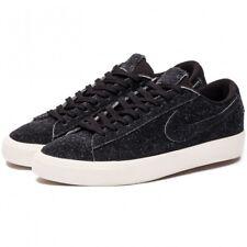 Nike SB Blazer Studio Low Premium Suede Black Noir White Gum OG Vans 45 NOUVEAU