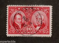 Canada 1927 #148 Θ used F 20 cent stamp SOTN Peace River, Alberta