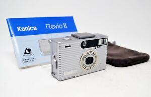 【Near Mint】 Konica Revio II APS Point & Shoot Film Camera 23-50mm Lens * F/S*