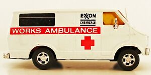 Matchbox super kings large scale Dodge K38 EXXON Ambulance mint