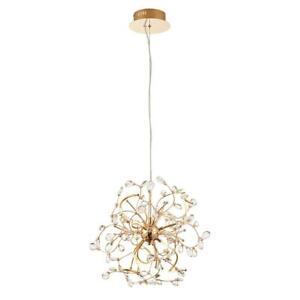 Endon Lighting 68889 Willa Gold 6Lt Ceiling/ Roof Pendant Light 2.5W Warm White