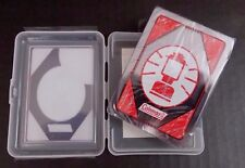 Coleman Lantern - Waterproof Playing Cards W/Plastic Case - Camping - New/Sealed