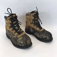 Redhead Woodsman Camouflage Boots Women's Size 8 Medium Oil Resistant