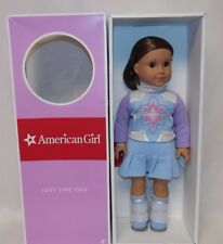 "American Girl JLY 18"" DOLL #28 Brown Eye Brown Hair I Like Your Style DN28 NEW"
