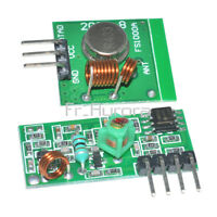 433Mhz  Wireless RF Transmitter Module+Receiver Alarm Super Regeneration Arduino