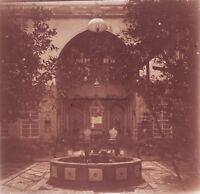 Siria Damas Casa Di Foto Placca Da Lente Stereo 1935