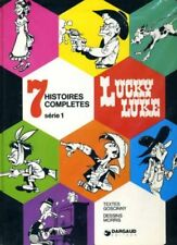 LUCKY LUKE - 7 HISTOIRES COMPLETES SÉRIE 1 dargaud E.O. 1974 sept