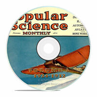 Classic Popular Science Magazine, Volume 3 DVD, 1924-1932, 92 issues, V03