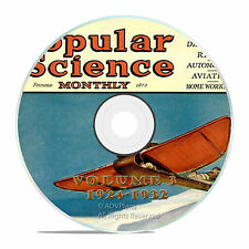 Classic Popular Science Magazine, Volume 3 DVD, 1924-1932, 92 issues, V03
