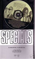 THE SPECIALS Little Bit Me a you RARE MIX & EDIT PROMO DJ CD Single USA 1996