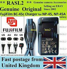 Véritable Fujifilm charger,bc-45c NP-45A xp51 JX530 jx210 JZ500 j250 Z1010EXR