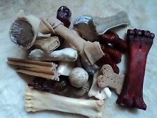 10Kg Fresspaket ca10 verschiedene Sorten Knochen Bälle Sticks Hufe usw.1Kg 2,90€