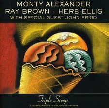 Monty Alexander - Triple Treat [New CD]