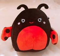 "Kellytoy Squishmallow 5"" Mini Bugs Life Trudy the Ladybug Plush Doll Toy"