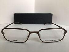 New PORSCHE DESIGN P 8185 P8185 D 52mm Titanium Rx Eyeglasses Frame Japan