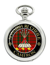Clan Pocket Watch Cameron Modern Scottish