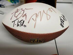 Baltimore Ravens Autograph AUTO Mini Football Steve McNair Billick ++  *CSA COA*