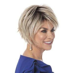 Toni Brattin Trendsetter short layered red blond wig