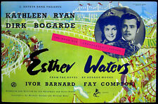 ESTHER WATERS 1947 Dirk Kathlen Ryan, Dirk Bogarde, Cyril Cusack TRADE ADVERT