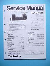 Service Manual-Anleitung für Technics SA-CH655 ,ORIGINAL