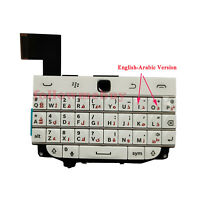 Keyboard Qwerty Buttons Keypad Flex Cable For BlackBerry Classic Q20 White/ARABC