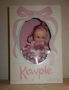 """Cameo's KEWPIE 8"""" DOLL by JESCO in Pink Jester Outfit #853 -New in Original Box"""