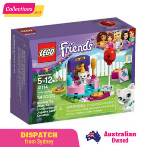 GENUINE LEGO Friends - Party Styling - 41114 - Fast FREE Shipping from Sydney !!