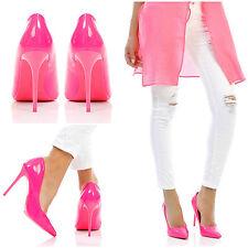 Unbranded Court Wet look, Shiny Slim Heels for Women