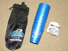 GREAT WSSA Speed Stacks - cups + carrying bag - blue w/ instructions