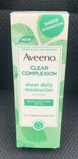 Aveeno 2.5 oz. Clear Complexion Sheer Daily Moisturizer SPF 30