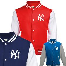 New York Yankees estilo Varsity Béisbol Chaqueta adultos Childrens