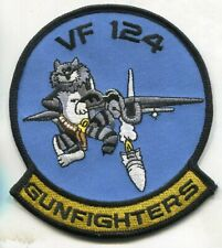 VF-124 GUNFIGHTERS US NAVY F-14 TOMCAT NAS Miramar Fighter Squadron Patch