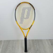 Prince Triple Threat TT Scream OS B875 Yellow Tennis Racquet 4 1/4Grip TC80B 110