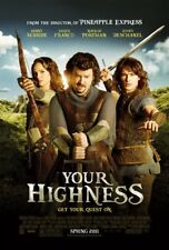 YOUR HIGHNESS Natalie Portman ORIGINAL DS AFFICHE DU FILM