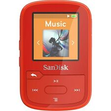 Sandisk Clip Sport Plus MP3 Player - 16GB, Bluetooth, Sansa, Water Resistant NEW
